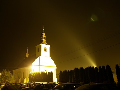 Architektonické osvětlení může představovat významný zdroj světelného znečištění